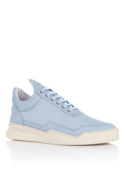 Filling Pieces Low Top Ghost Lane sneaker van nubuck