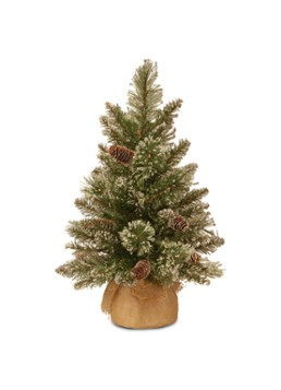 National Tree Company Glittery Bristle kunstkerstboom 61 cm