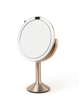 Simplehuman Sensor Trio make-up spiegel 20 cm