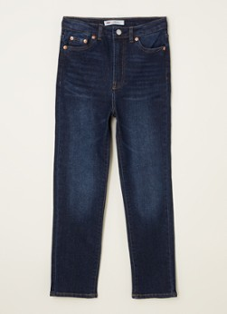 Levi's Ribcage straight leg cropped jeans met stretch