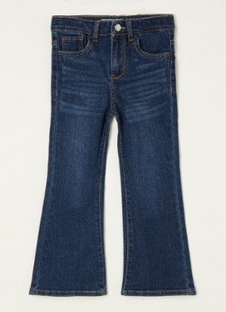 Levi's Cropped flare fit jeans met stretch