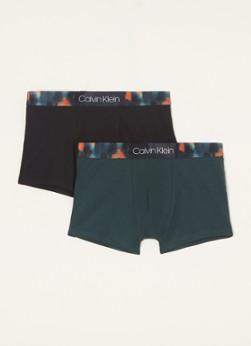 Calvin Klein Boxers met logoband in 2-pack