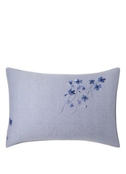 HUGO BOSS Linen Flowers kussensloop van katoensatijn 300TC