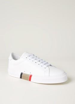 BURBERRY Rangleton sneaker van kalfsleer