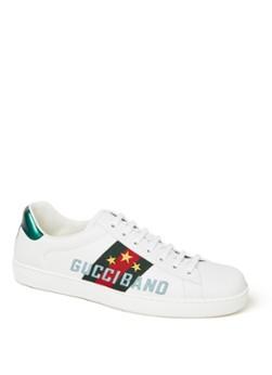 Gucci Ace sneaker van leer met logo en streepdetail