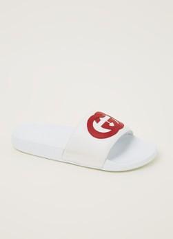 Gucci Pursuit GG slipper van leer