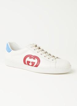 Gucci Ace sneaker van leer