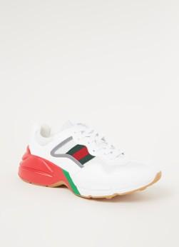 Gucci Rhyton sneaker met mesh details