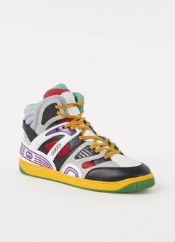 Gucci Sneaker met logo en mesh details