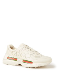 Gucci Rhyton sneaker van leer