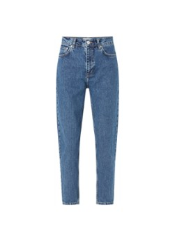 MANGO Mom high waist tapered cropped jeans