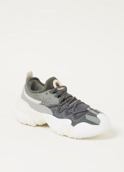MANGO Wall sneaker met mesh details