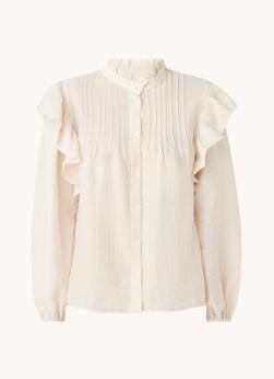 MANGO Dakota blouse met ruches