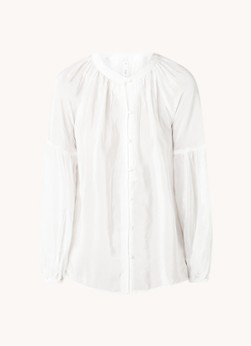 MANGO Molly blouse met ballonmouw