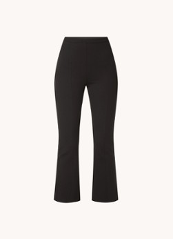 MANGO Milly high waist flared fit cropped pantalon