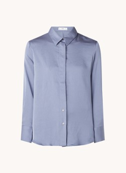 MANGO Ideale blouse met blinde knoopsluiting