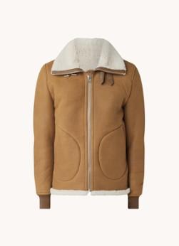 Goosecraft Jackson lammy coat van schapenleer