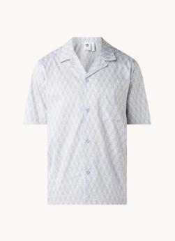 adidas Regular fit overhemd met logoprint