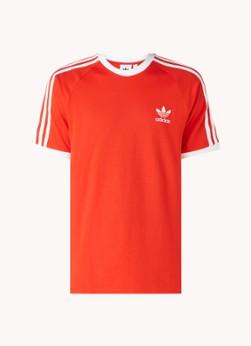 adidas 3-Stripes trainings T-shirt met logoborduring
