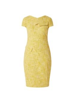 Damsel in a dress Demelza kokerjurk van tweed met plooidetail