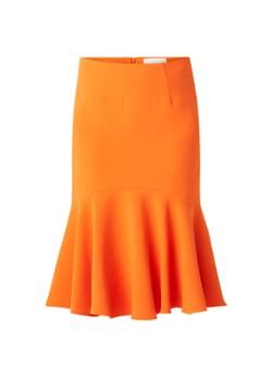 Damsel in a Dress Sati Fluted Skirt Orange 08