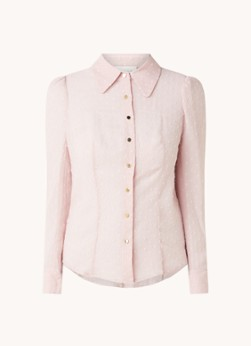Damsel in a Dress Fraya blouse met structuur en lurex