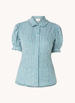 Damsel in a Dress Amylia blouse met grafische print en pofmouw