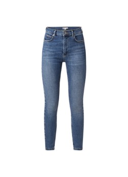 Whistles mid waist skinny fit jeans met stretch