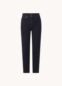Whistles Sculptured high waist skinny fit jeans met donkere wassing