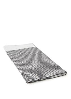 Mette Ditmer Grid badhanddoek 70x140 cm Zwart-off white online kopen