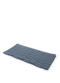 Mette Ditmer Geo badhanddoek 70x133 cm Slate blue online kopen