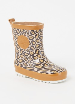 Shoesme Regenlaarzen Rubber Laars met Fleece Sock Bruin online kopen