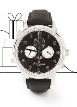 Fromanteel Globetrotter Moonphase S-P- Goudsmit horloge