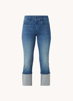G-Star RAW Noxer mid waist straight leg jeans met medium wassing