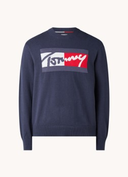 Tommy Hilfiger Pullover met ingebreid logo