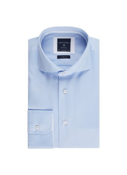 Profuomo Strijkvrij slim fit overhemd met fijn streepdessin