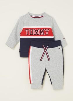 Tommy Hilfiger Babypak met sweater en joggingbroek 2-delig