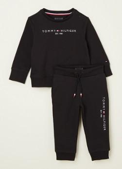 Tommy Hilfiger Babyset met sweater en joggingbroek