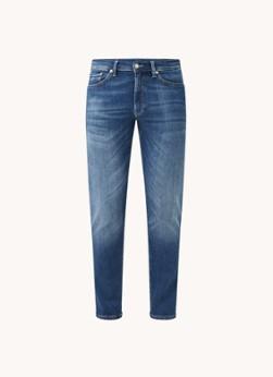 Maxen extra slim fit jeans met medium wassing en stretch