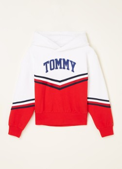 Tommy Hilfiger Varsity hoodie met logoborduring