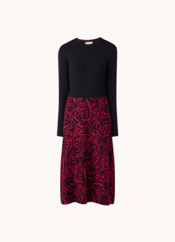 Hobbs Harlie midi jurk met print