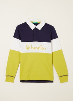 Benetton Polo met logoborduring