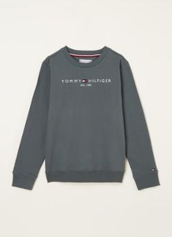 Tommy Hilfiger Essential sweater met logoborduring