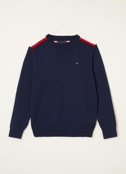 Tommy Hilfiger Fijngebreide pullover met logoborduring