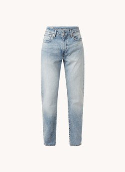 Levi's 502 tapered jeans met lichte wassing