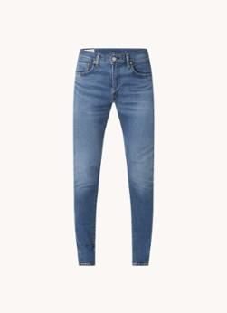 Levi's Skinny fit jeans met medium wassing