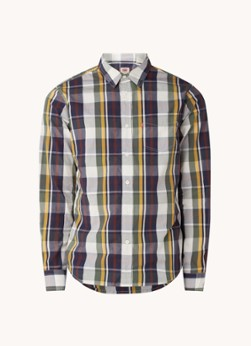 Levi's Regular fit overhemd met ruitdessin en borstzak