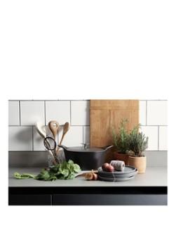 CUISINOX Braadpan geëmailleerd ovaal 3,9 L 29 cm zwart online kopen