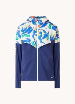 Nike Windrunner jack met reflecterende details en capuchon