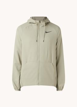 Nike Flex trainingsjack met Dri-Fit